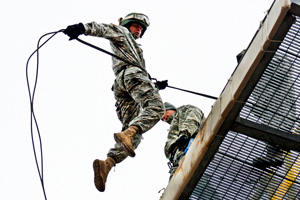 Tower leap training