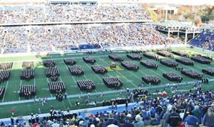 View of the Army Navy Game