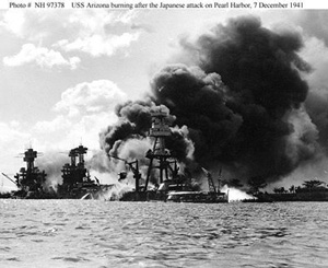 Pearl Harbor Bomberded