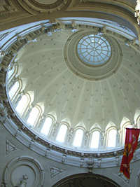 Naval Academy chapel dome