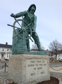 Fishermen's monument at Gloucester, MA